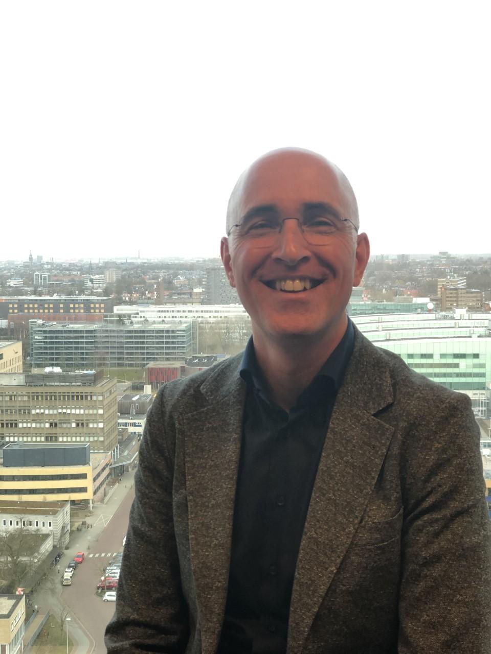Portretfoto van Ivo van Koolwijk, projectmanager HR, Radboud Universiteit Nijmegen