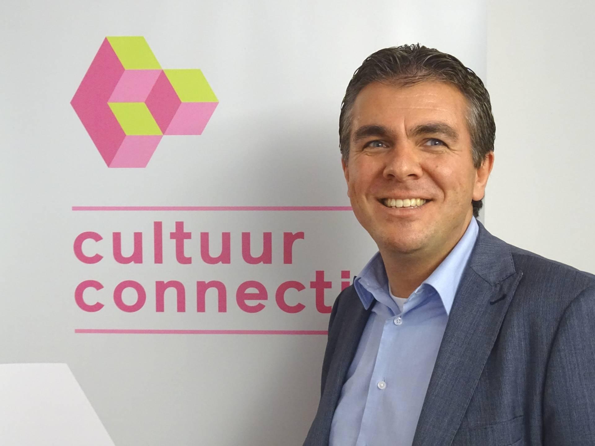 Portretfoto van René de Kok, commercieel manager Cultuurconnectie