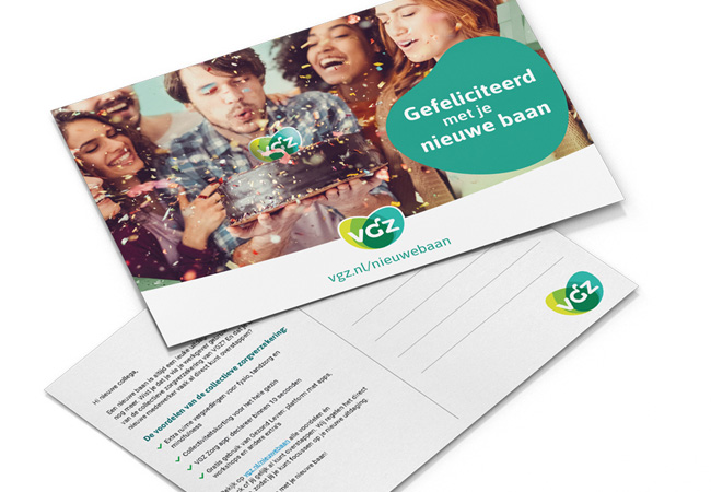VGZ Nieuwe Baan ansichtkaart