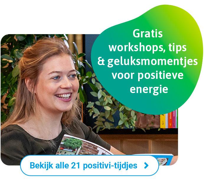 Start het jaar 2021 met een volle lading positivitijd! Klik hier voor 21 dagen positivitijd :)
