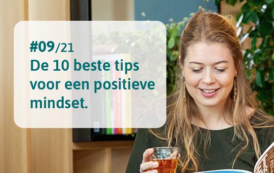 10 tips voor een positieve mindset