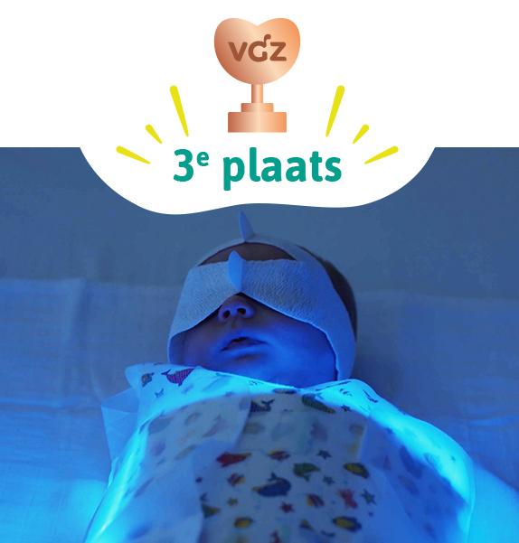 derde plaats Zinnige Zorg Award 2021 fototherapie geelzucht