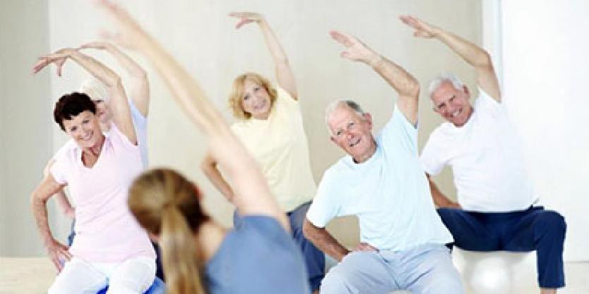 Ouderen doen aan beweging