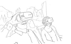 Mindful VR-experience