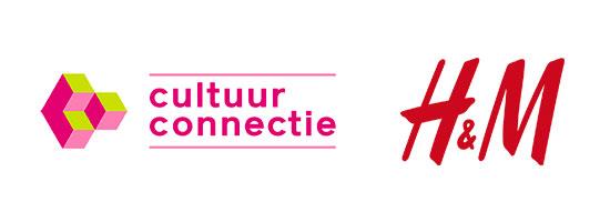 Logo's van Cultuurconnectie en van HM