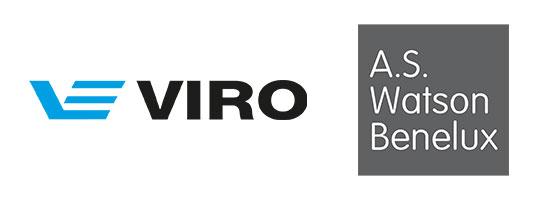 Logo's van Viro en AS Watson
