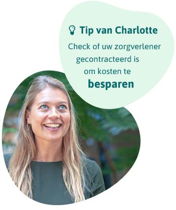 Tip: Check of uw zorgverlener gecontracteerd is