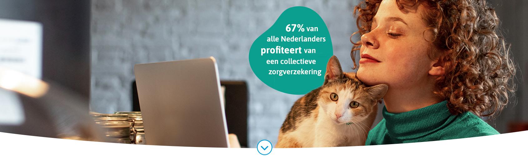 67% van alle Nederlanders profiteert van vele extra's en korting via hun collectieve zorgverzekering
