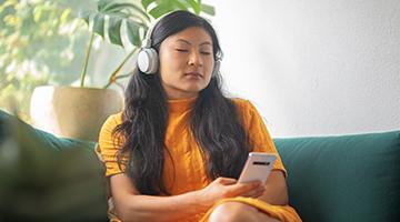 Geniet van de gratis Mindfulness app